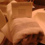 Bathroom Towel Charges