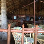 The bar on the beach- great place!