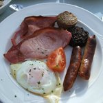 Traditional Irish Breakfast - both tasty & illing