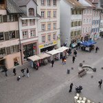 View from room #302 on the pedestrian zone
