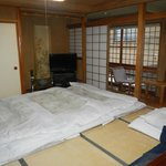 Room Type A with tatami mats down