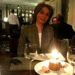 Birthday cake party inside Narikala Hill Restuarant Tbilisi