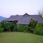 toit de notre bungalow