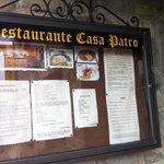 Restaurante Casa Patro