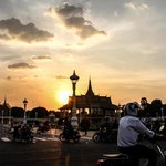 Khmer Sunset