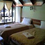 our 2 single bed area (mezzanine floor)