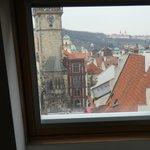 Vistas desde una de las ventanas de la habitación