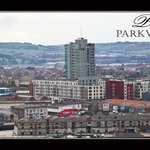 View of Cork city from Parkview B&B