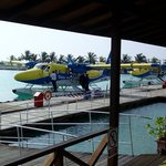 Aéroport de Malé, côté hydravions