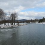 Frozen river at Smethport