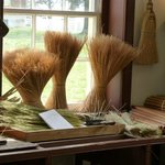 The broom room!