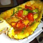 pineapple chicken. yum yum...