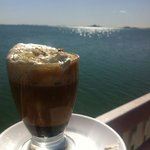 coffee with a very special view!