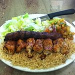 Beef and Chicken Kabob