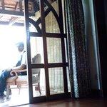 visita desde habitacion