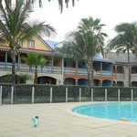 Back side of property w/ pool