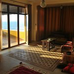 A view from Al Mat'haf's luxurious rooms
