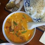 business lunch (M5) massaman curry.