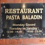 Photo de Pasta Baladin
