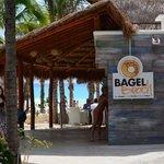 Bagel beach