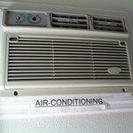 aria condizionata inutilizzabile senza manopole