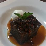 Sticky Toffee Pudding with Ice Cream