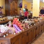 Sweets at the Florian factory in Le Pont du Loup - 06140 - Tourrettes-sur-Loup