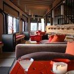La sala bar e zona relax