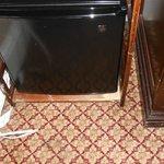 Scratched/worn furniture