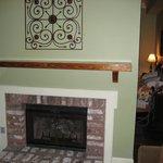 Fireplace creates a partition Studio # 214