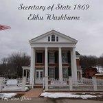 Elihu Washburne's House, Secretary of State 1869