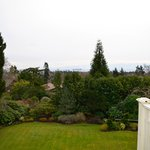 View from deck of Rose Garden suite