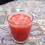 orange pomegranate juice