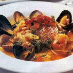 BOURRIDE│ Provencal Stew, St. Pierre, Scallops, Mussels, Clams, Saffron Orange Brodo, Rouille