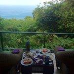Breakfast on the Balcony!