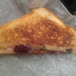 Blackberry Mash Grilled Cheese