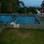 Nice evenings by the pool