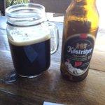 Dark German  Beer in a Mug