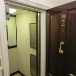 Elevator opens to unit #2