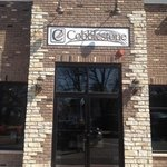 Entrance to Cobblestone Bistro