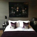 Detail kingsize bed
