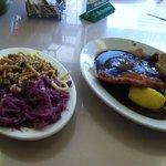 Wiener schnitzel lunch - sehr gut!