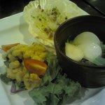 12.09.30【ナティーヴォ】前菜の3種盛り合わせ