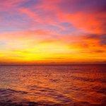 striking sunsets