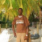 Erroll our beach guard