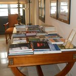 Lounge area/ library