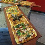 Metre Long Pizza