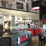 Red Pizzeria Interiors
