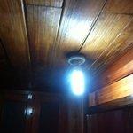 il lampadario a rischio incendio