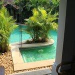 Pool at the door